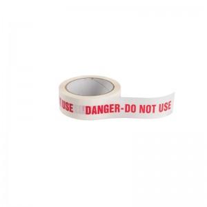 DANGER DO NOT USE ID TAPE