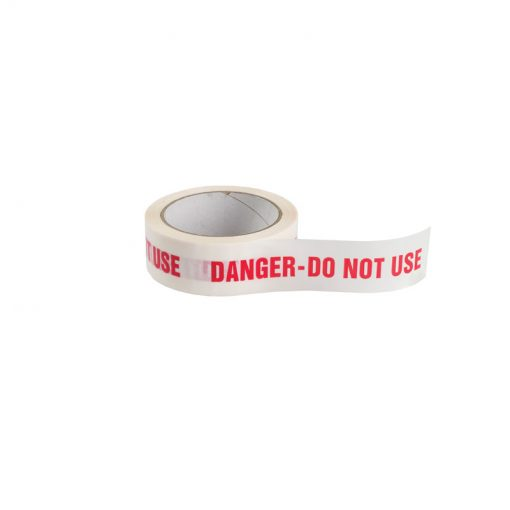 DANGER DO NOT USE ID TAPE
