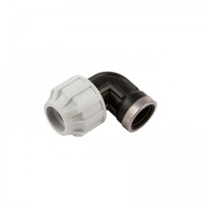 "20MM X 1/2"" PLASTIC-COMP FI ELBOW